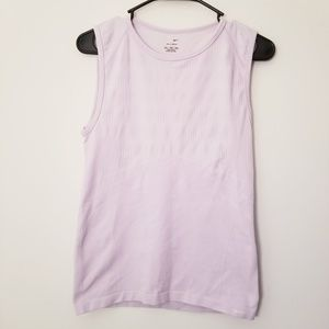 Nike Large Lilac Purple Workout Athletic Tank Top